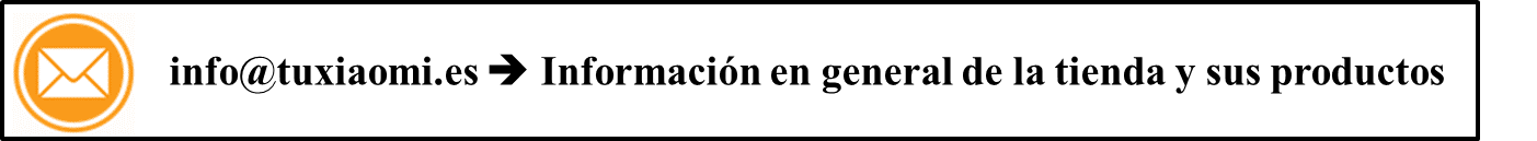 contacta con TuXiaomi.es