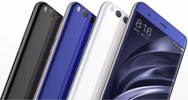 Color Xiaomi Mi6
