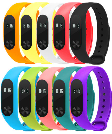 pulsera color Mi Band 2
