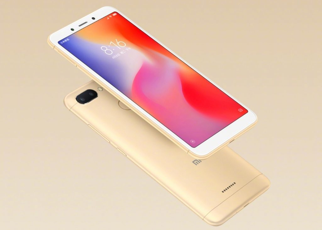 redmi-6a-gold