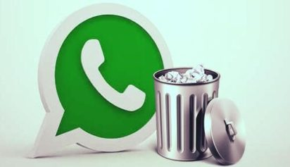 Papelera WhatsApp