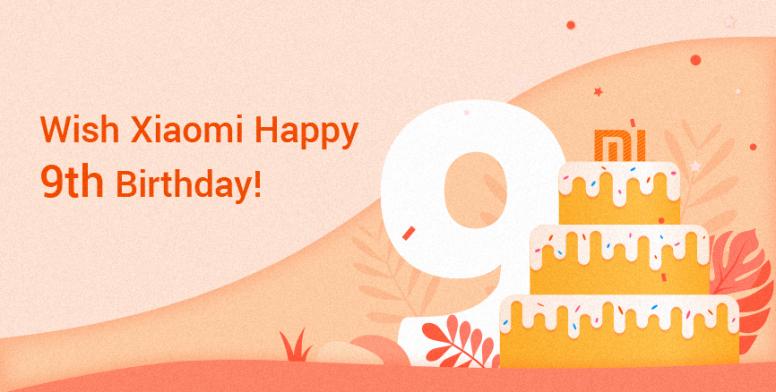 Xiaomi cumple 9 años como marca