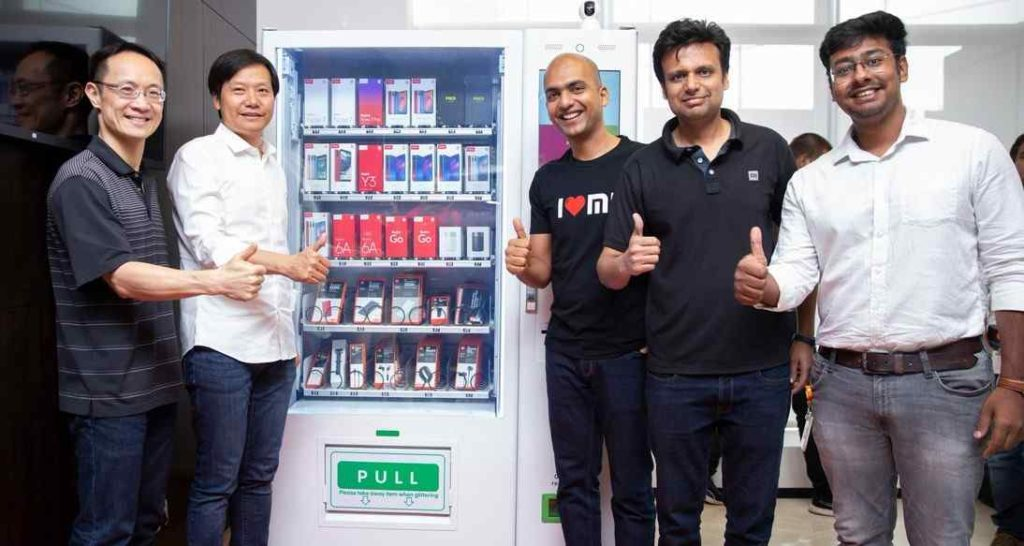 Xiaomi Mi Express Kiosk: máquinas expendedoras para teléfonos