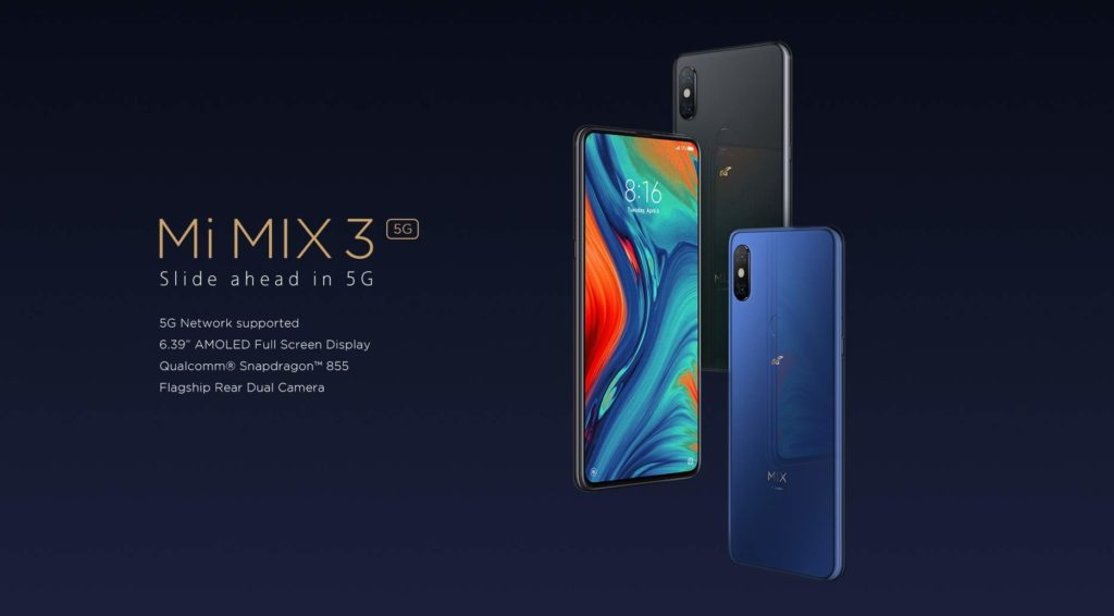 Xiaomi Mi MIX 3 5G muy pronto a la venta: 2 de Mayo