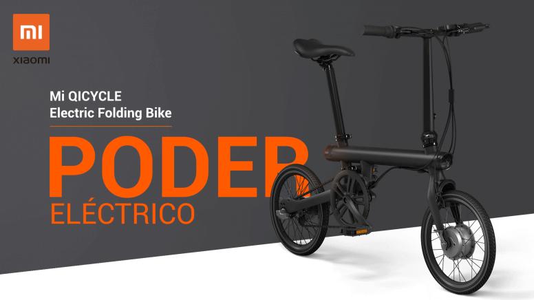 Xiaomi QiCycle EF1, la mejor bici eléctrica plegable