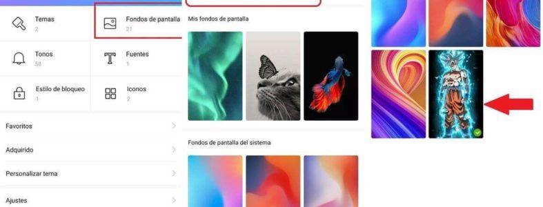 Cómo tener vídeos de fondo de pantalla en tu Xiaomi