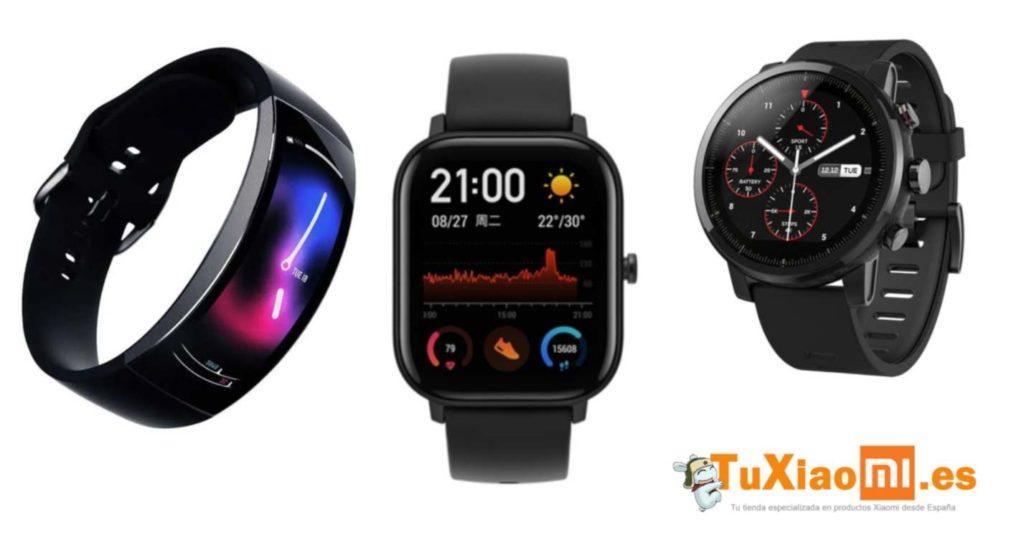 AmazFit presenta 3 nuevos e increíbles relojes