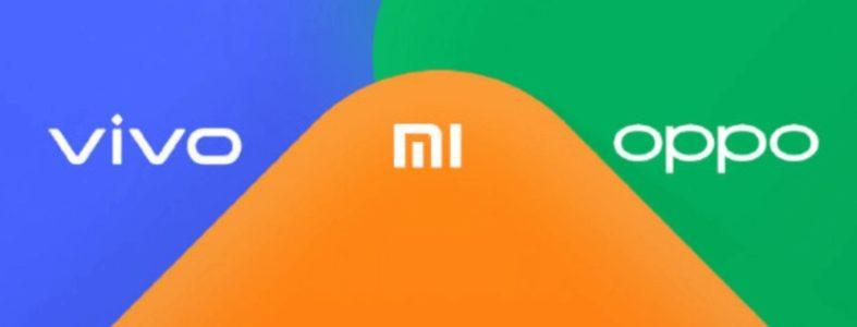 Xiaomi OPPO y Vivo lanzan un servicio de transferencia de archivos