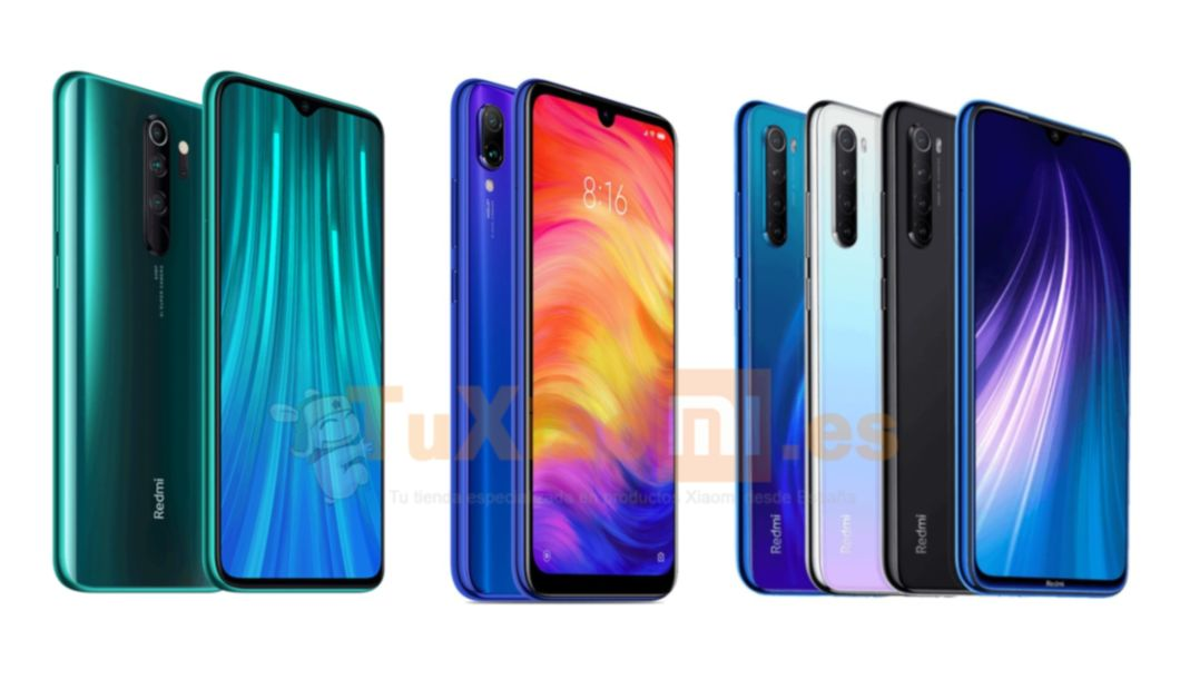 Redmi Note 8 Pro vs Redmi Note 8 vs Redmi Note 7
