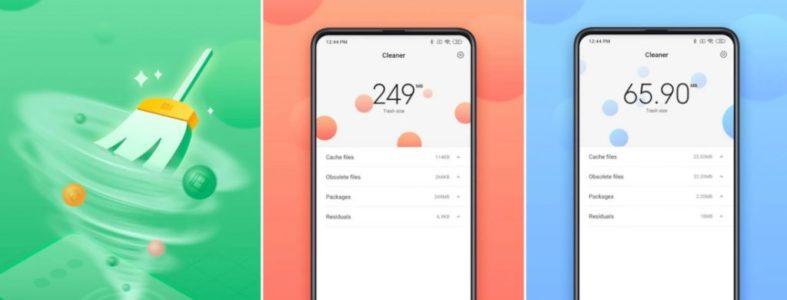 Xiaomi Cleaner Lite para limpiar el almacenamiento de tu smartphone