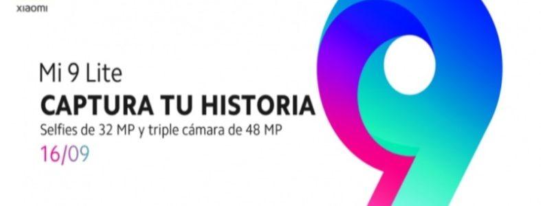 Xiaomi Mi9 Lite se hará oficial en España el 16 de septiembre
