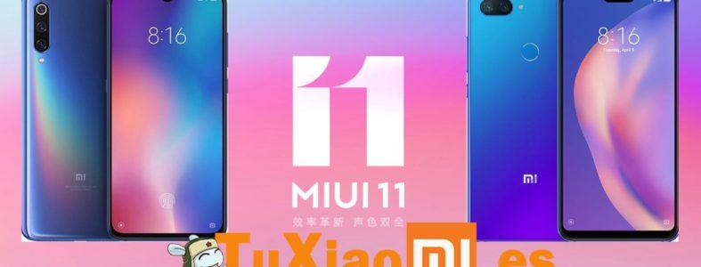 MIUI 11 Global para Xiaomi Mi 9 y Mi 8 Lite disponible
