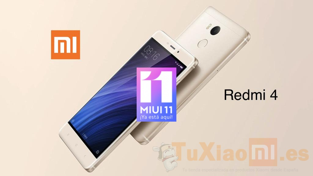 Redmi 4 MIUI 11 Global Stable llega al dispositivo