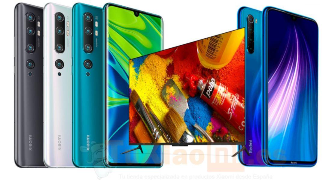 Xiaomi Mi Note 10 Series, Redmi Note 8T y Mi TV 4 Series se hacen oficiales