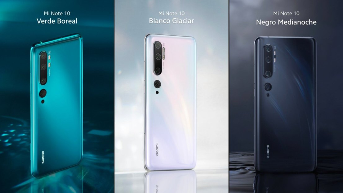 Xiaomi Mi Note 10 Series, Redmi Note 8T y Mi TV 4 Series