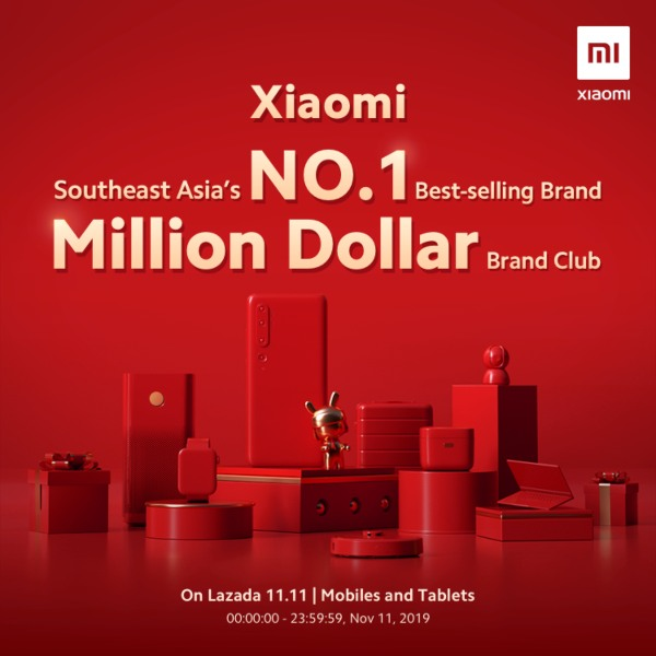 Xiaomi lidera las ventas del 11 del 11