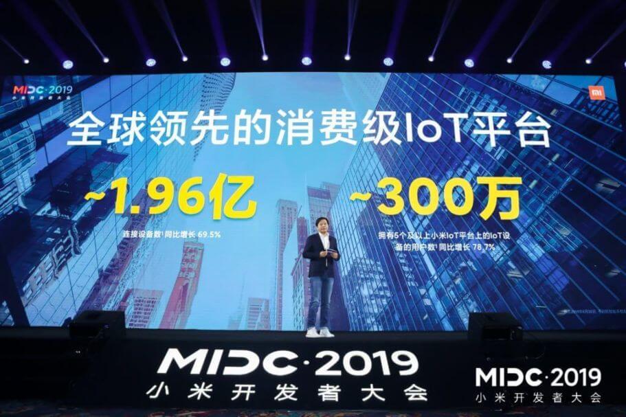 Xiaomi presenta novedosas tecnologías en MIDC 2019
