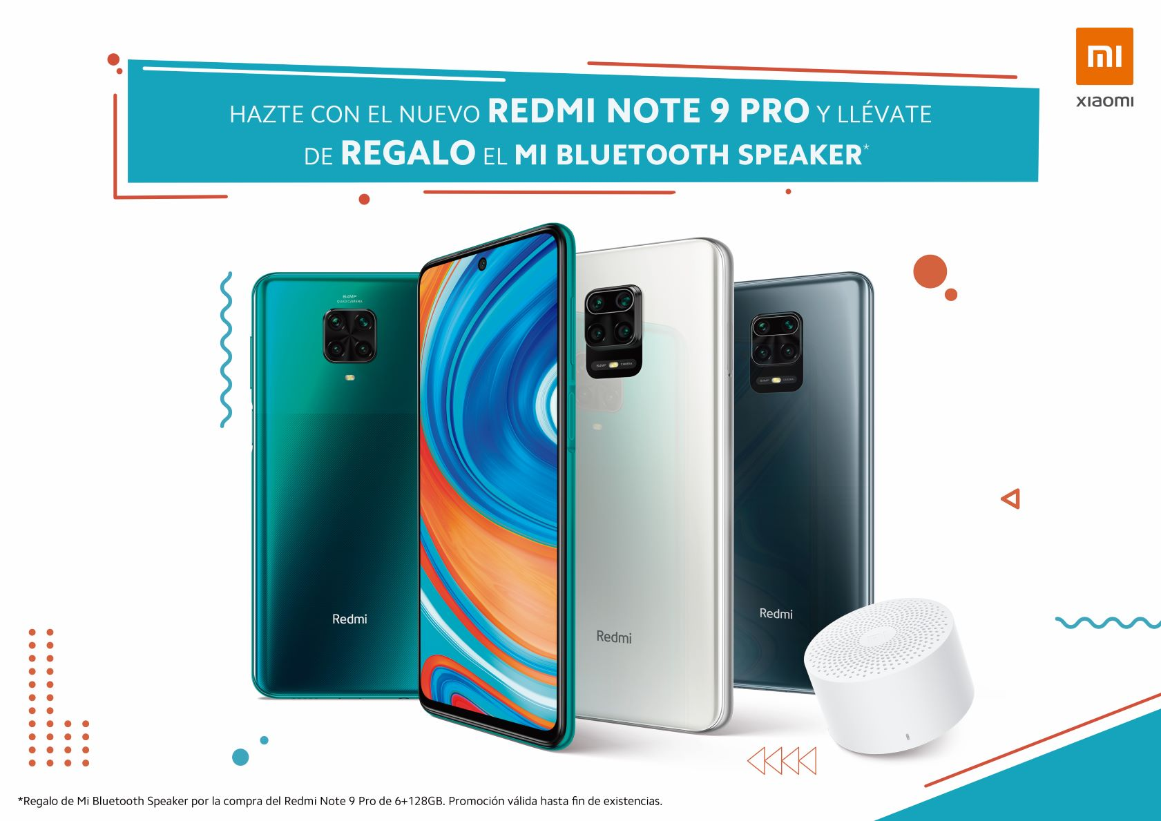 Redmi Note 9 Pro-Mi Bluetooth Speaker-KV-A3-H S