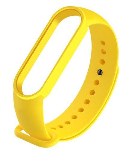 recambio-correa-silicona-Xiaomi-Mi-Band-5-repuesto-amarillo