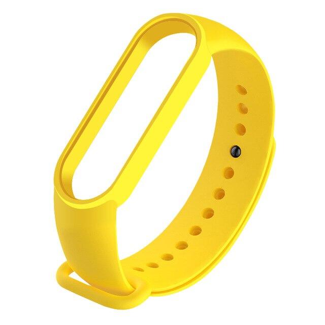 Recambio correa Xiaomi Mi Band 5 (amarillo)