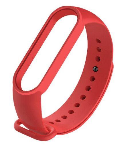 recambio-correa-silicona-Xiaomi-Mi-Band-5-repuesto-rojo