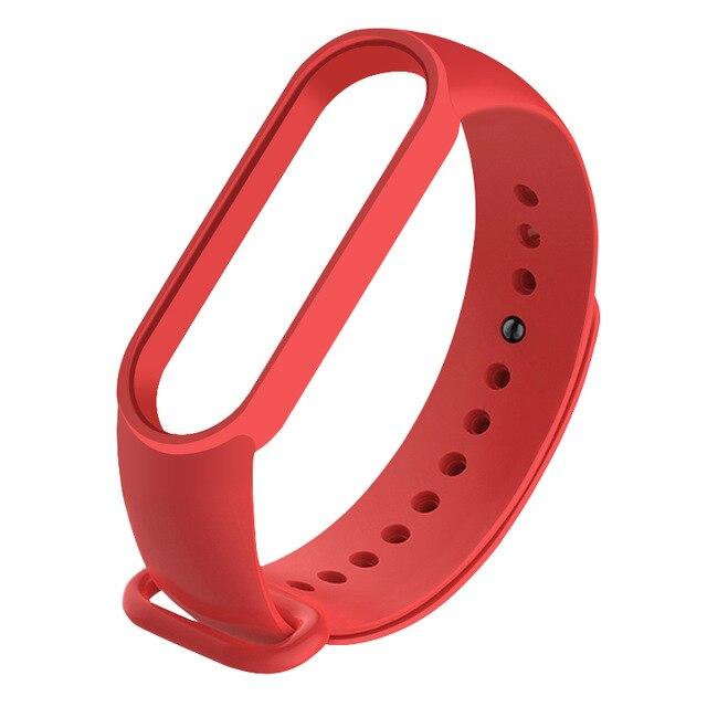 Recambio correa Xiaomi Mi Band 5 -rojo
