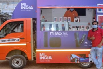 Xiaomi Mi Store on Wheels