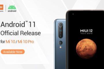 Xiaomi anuncia el lanzamiento oficial de Android ™ 11 para el Mi 10 y Mi 10 Pro