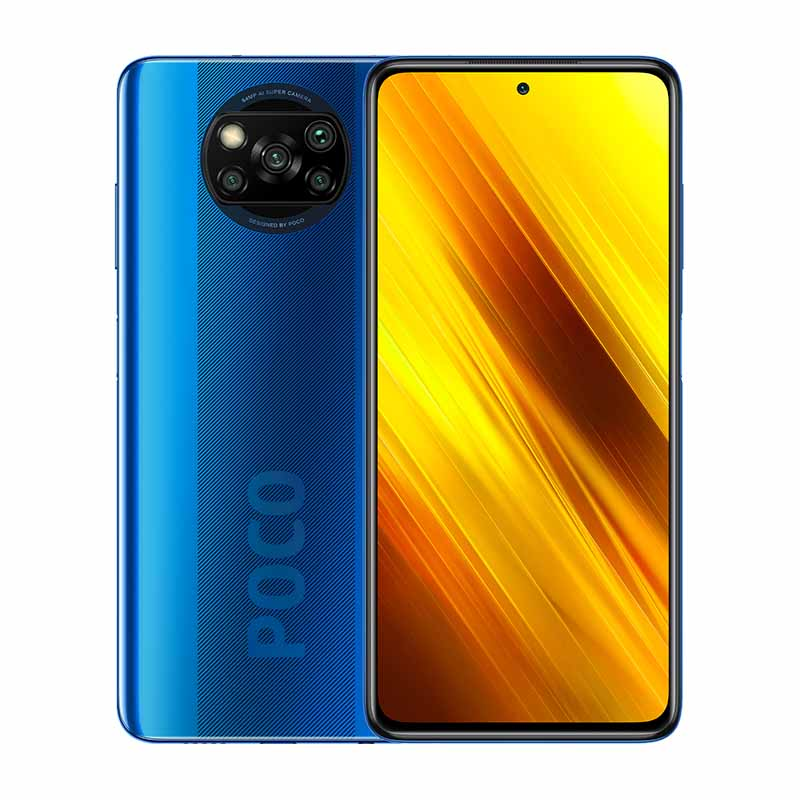 REACONDICIONADO (Grado A) Poco X3 NFC 6/64GB Cobalt Blue - Libre